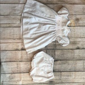 Other - Smocked dress with bloomers